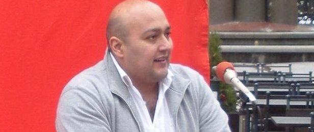 Victor Diaz De Filippi, partiordförande för Sveriges Kommunistiska Parti. Arkivfoto