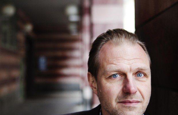 Jonas Nordling, ordförande för Journalistförbundet. Fotograf: Tomas Ohlsson