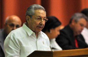Raul Castro talar i kubas parlament om relationerna mellan USA och Kuba. Foto: www.cubadebate.cu