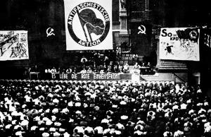 Antifascistisk Aktion startades av det tyska kommunistpartiet KPD i slutet av maj 1932 som en massrörelse som sträckte sig långt utanför partiet. Foto: Wikimedia Commons