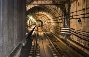 Tunnelbanan i Köpenhamn. Foto: Colourbox