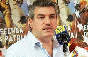 Yul Jabour från Venezuelas Kommunistiska Parti (PCV).