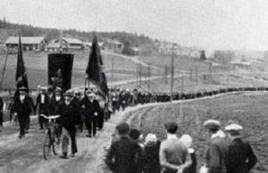 Skotten i Lunde, Ådalen 1931.
