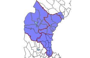 Västernorlands län 1654.