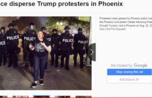 Skärmdump från Phoenix news.