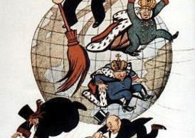 Kamrat Lenin rensar jorden från ohyra.