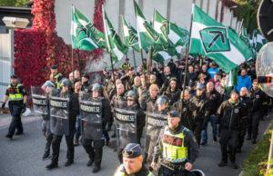 Bild från NMR-demonstrationen i Göteborg. Foto: Victor Pressfeldt