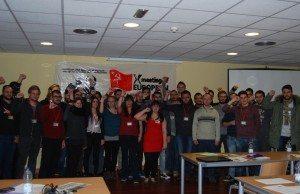 Deklation antagen av Europas ungkommunister.
