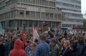 Protester mot Sverigedemokraterna. Foto: JanneMatt