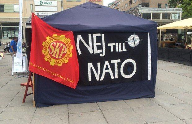 Arkivbild: SKP:s valtält i Stockholm i valrörelsen 2014.