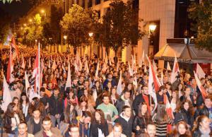 PAME (Alla arbetares militanta front) har haft tre dagars massiva aktioner mot de nya antifackliga åtgärderna.