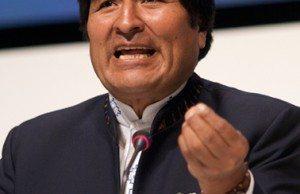 Evo Morales på COP15. Foto: Simon Wedege - CC BY 3.0 via Wikimedia Commons