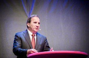 Regeringschefen Stefan Löfven. Foto: Jens Ohlsson