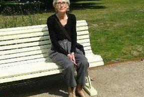 Mobilfoto: Marie Norgren, ordförande för SKP Lund.