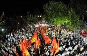 KKE:s valmöte i Larisa.