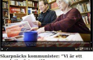 Foto: Skärmdump från Tidningen Hammarby/Skarpnäck.