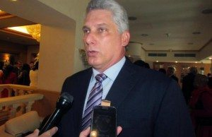 Kubas förste vicepresident, Miguel Diaz-Canel.