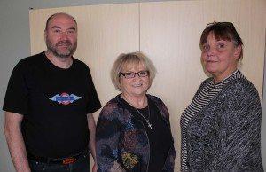 Johan Svensson, Gun-Britt Penderos och Ann-Charlotte Björklund blev avstängda på livstid.