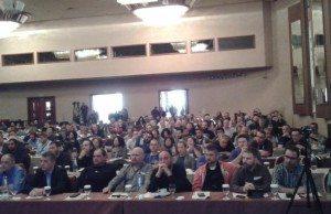 PAME:s fraktion på GSEE:s 36:e kongress.