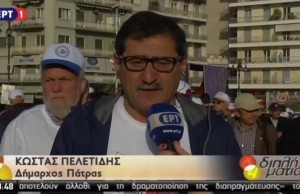 Patras borgmästare Costas Peletidis.