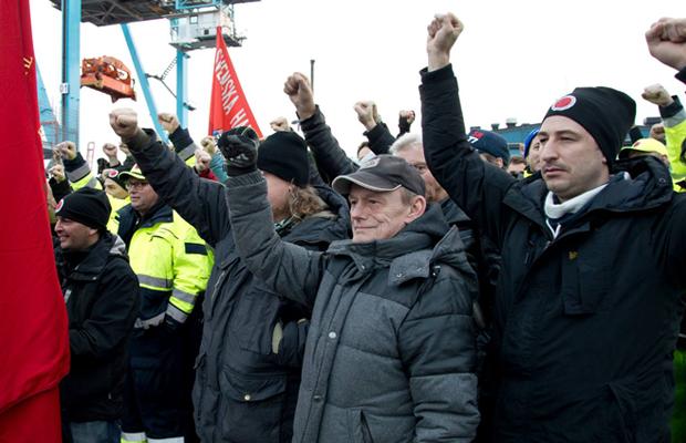Foto: Svenska Hamnarbetarförbundet