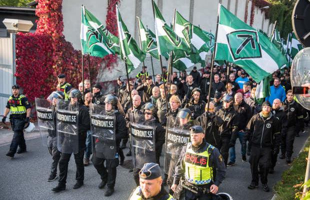Bild från NMR-demonstrationen i Göteborg 2017. Foto: Victor Pressfeldt
