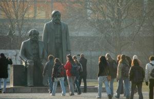 Marx-Engels-Forum i Berlin.