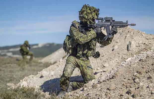 Bild från Trident Juncture 15. Foto: Private First Class Siim Teder, Estonian Defence Forces