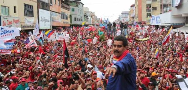 Maduro. Bild i Telesur 190119.