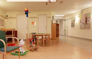 Barnavårdscentralens väntrum, Hedemora vårdcentral, Hedemora, Dalarna, Sverige. Foto: Calle Eklund/V-wolf/Wikimedia Commons