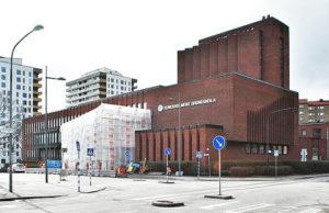 F.d. S:t Görans sjuksköterskeskola, idag en del av Kungsholmens grundskola. Foto: Johan Häggblom/Wikimedia Commons