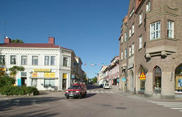 Centrala Filipstad, Kungsgatan. Foto: Bengt A Lundberg / Riksantikvarieämbetet [CC BY 2.5 (https://creativecommons.org/licenses/by/2.5)]