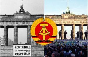 """""""Berlinmuren""""."""