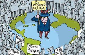 187 länder röstade mot USA:s blockad. USA fick bara med sig Israel och Brasilien.