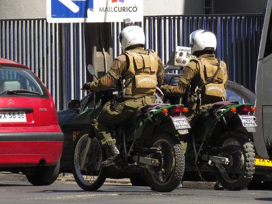 CHILENSKA POLISER. FOTO: RL GNZLZ/FLICKR (CC BY-SA 2.0)
