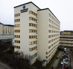 Akademiska sjukhuset i Uppsala. Foto: Johan Wahlgren