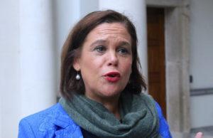 Sinn Féins ledare Mary Lou McDonald. Pressbild: Sinn Féin (CC BY 2.0)