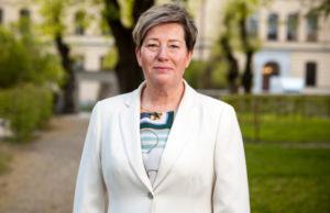 HRF:s förbundsordförande Malin Ackholt. Foto: Fredrik Sandin Carlsson
