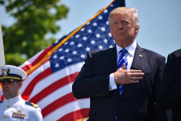Donald Trump. Foto: Patrick Kelley/USA:s kustbevakning