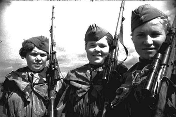 Kvinnor i Röda armén