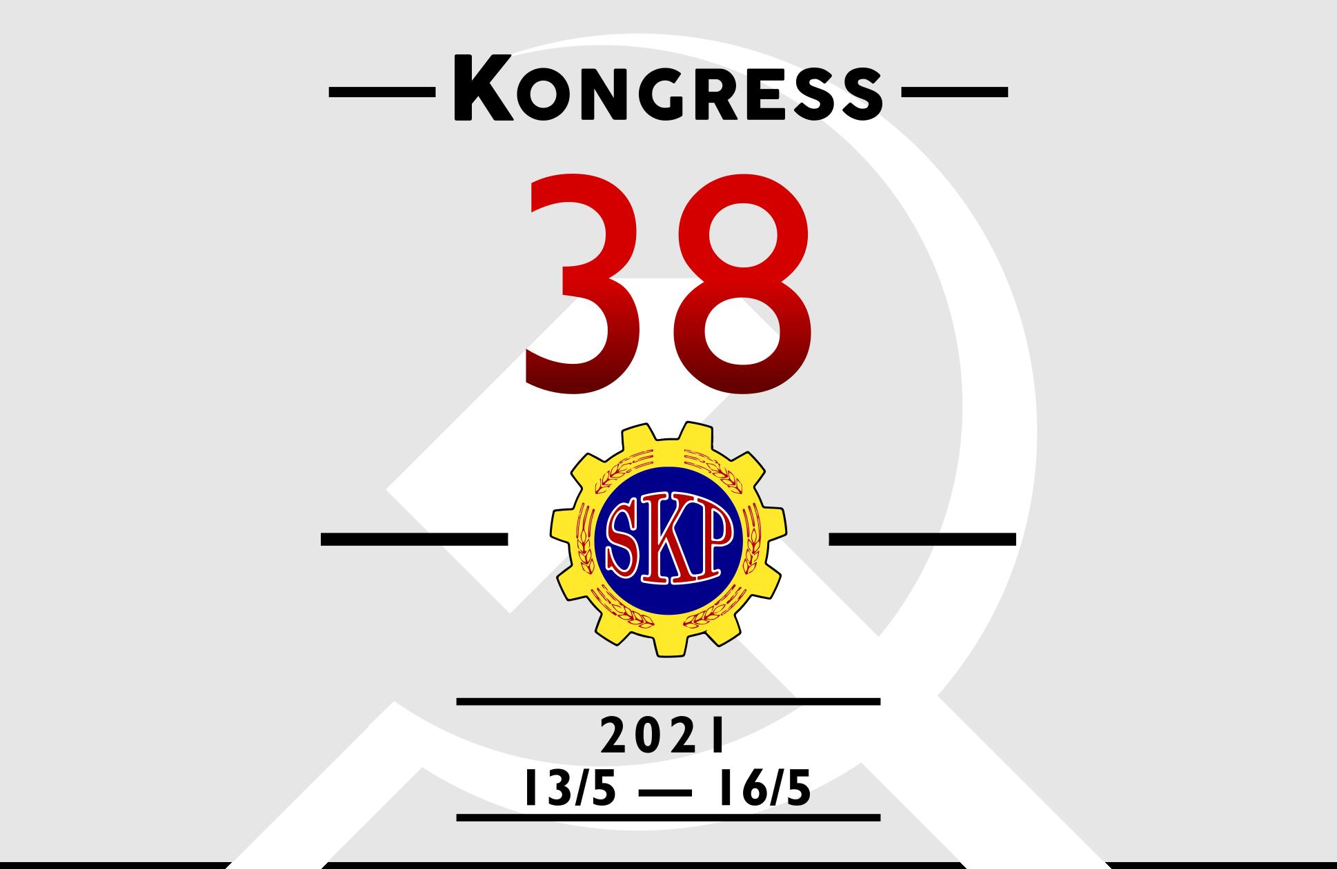 Sveriges Kommunistiska Partis 38:e kongress.