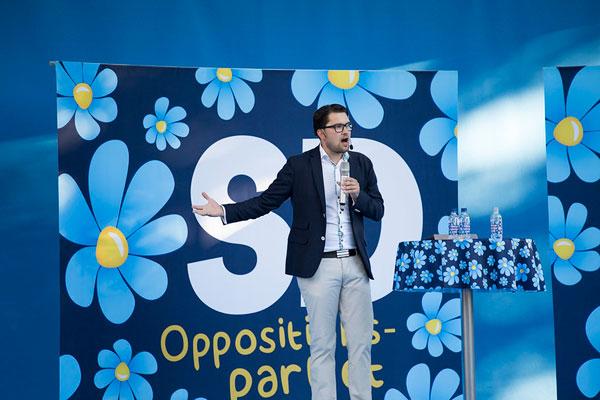 SD-ledaren Jimmie Åkesson. Foto: Per Pettersson/Flickr (CC BY 2.0)